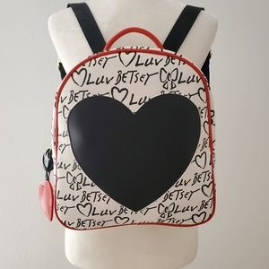 Betsey Johnson cute backpack NWT!!!!!
